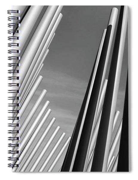 Domino Effect Spiral Notebook