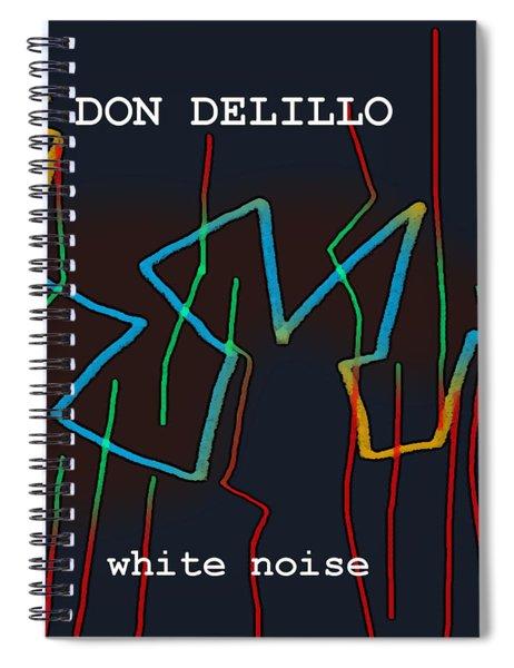 Don Delillo Poster  Spiral Notebook