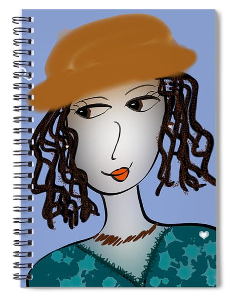 Don't Fear What Your Heart Hears Spiral Notebook