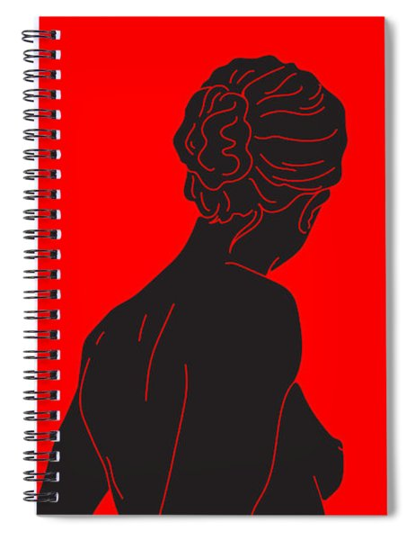 Dont Look Back Spiral Notebook