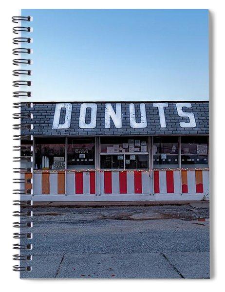 Donut Shop No Longer 3, Niceville, Florida Spiral Notebook