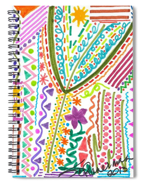 Doodles Gone Wild Spiral Notebook