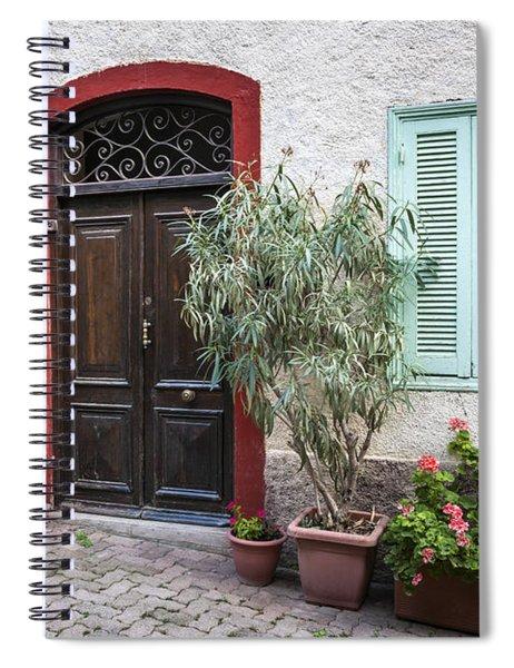 Door And Window Spiral Notebook