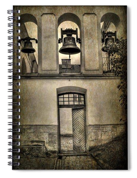 Door Bells Spiral Notebook