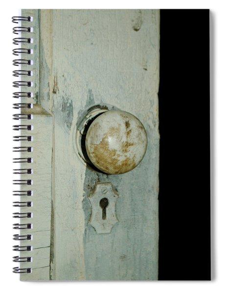 Door Is Open Spiral Notebook