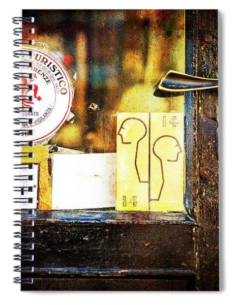 Door Latch 14 Spiral Notebook