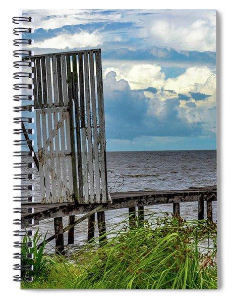 Door To Dock Spiral Notebook