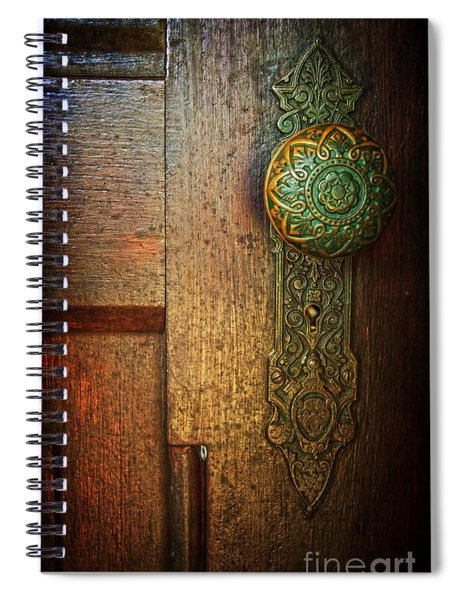 Doorknob Spiral Notebook