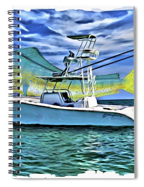 Dorado Yellowfin Spiral Notebook