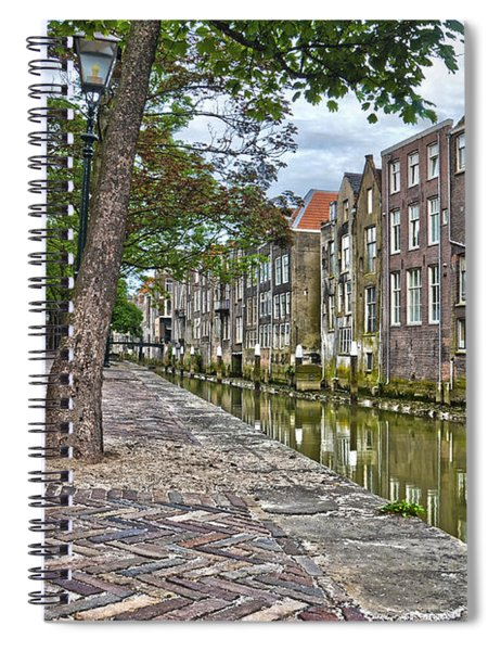 Dordrecht Behind The Church Spiral Notebook