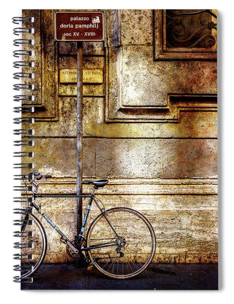 Doria Pamphilj Bicycle Spiral Notebook