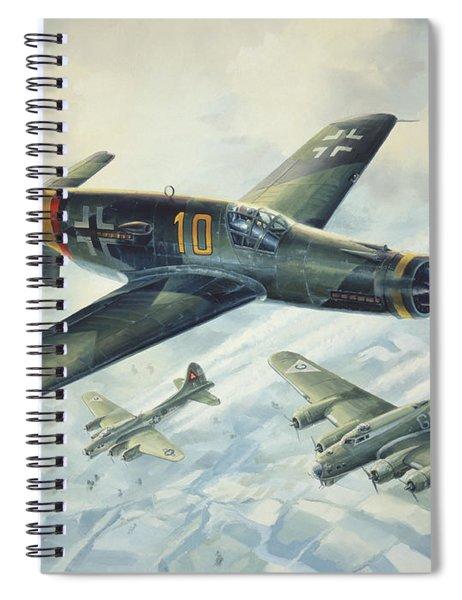 Dornier Do335 Pfeil Arrow Spiral Notebook