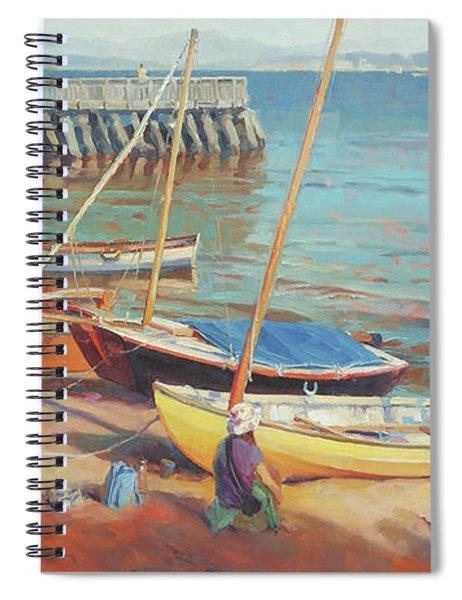 Dory Beach Spiral Notebook