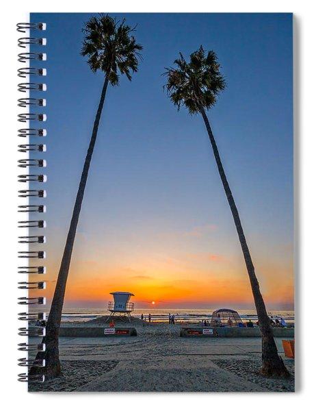 Dos Palms Spiral Notebook