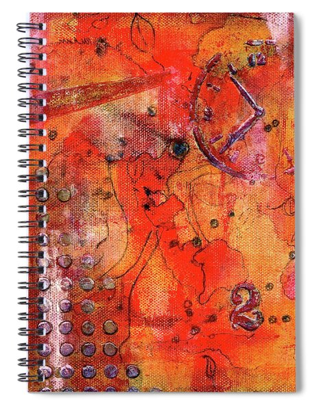 Dot Of Time Spiral Notebook