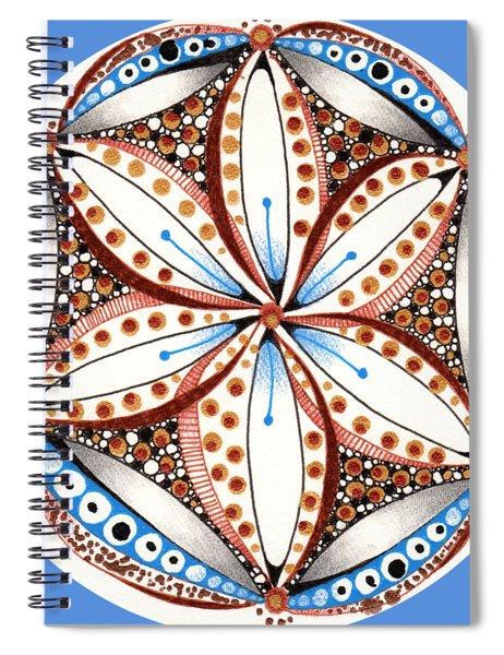 Dotted Zendala Spiral Notebook