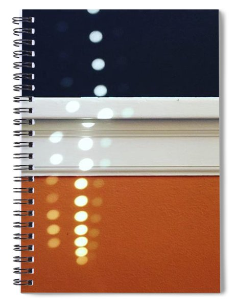 Dotty. #morningsun #dots #pattern Spiral Notebook