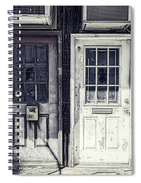 Double Doors Closed Spiral Notebook