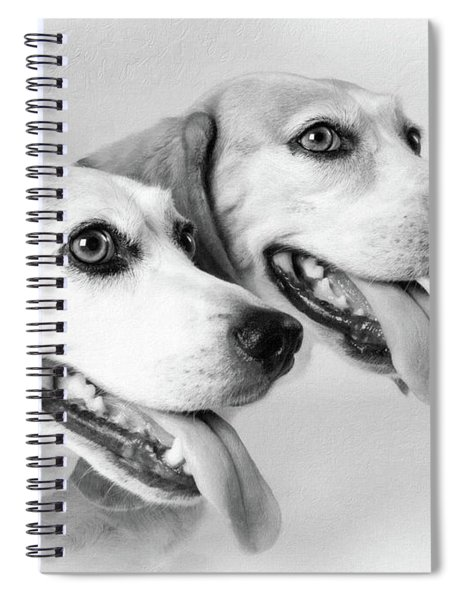 Double Trouble Spiral Notebook