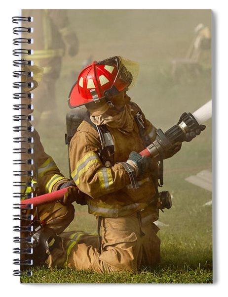 Dousing The Flames Spiral Notebook