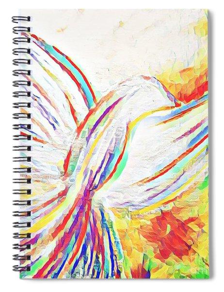 Holy Spirit Spiral Notebook