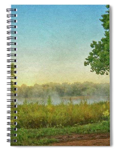 Down By The River, Rio Grande Bosque, New Mexico Spiral Notebook