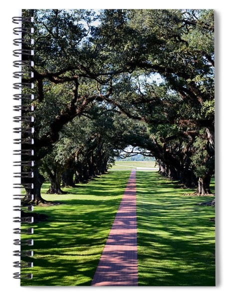 Down The Path Spiral Notebook