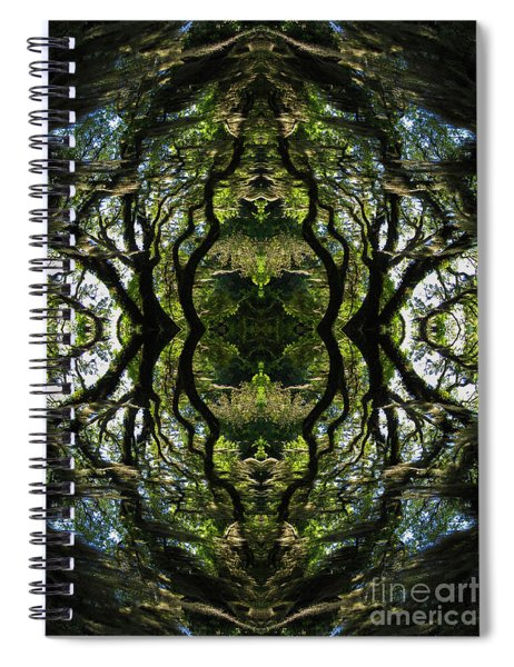Down The Rabbit Hole Spiral Notebook