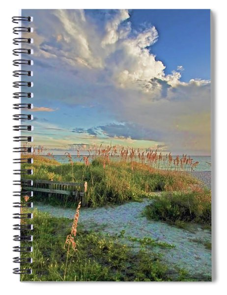 Down To The Beach 2 - Florida Beaches Spiral Notebook