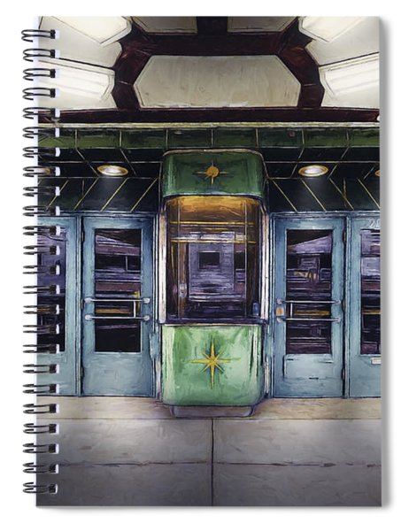 Downer Theater Box Office Spiral Notebook