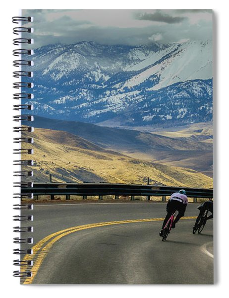 Downhill Spiral Notebook