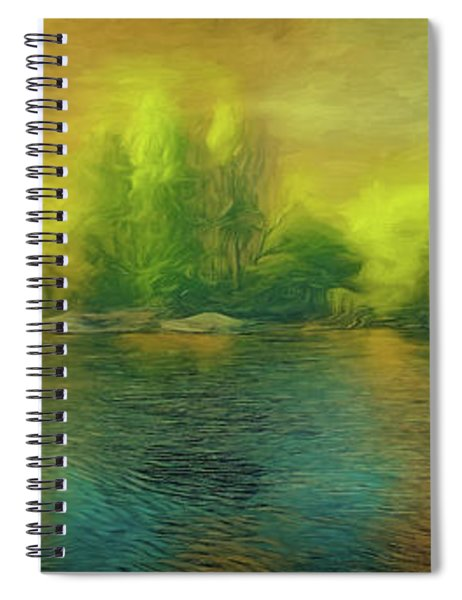 Downriver Glow Spiral Notebook