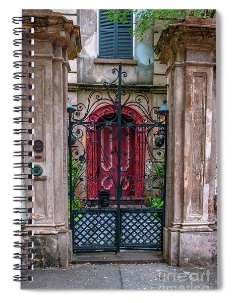 Downtown Charleston Architecture Spiral Notebook