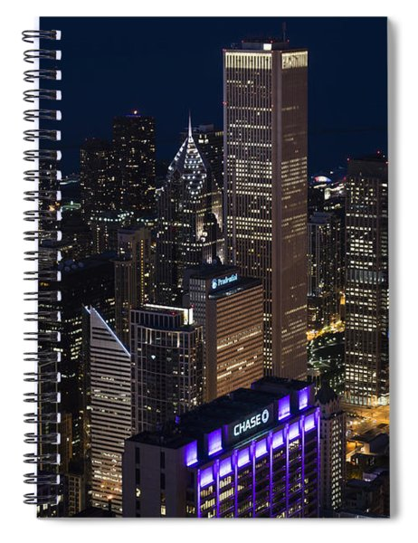 Downtown Chicago Spiral Notebook