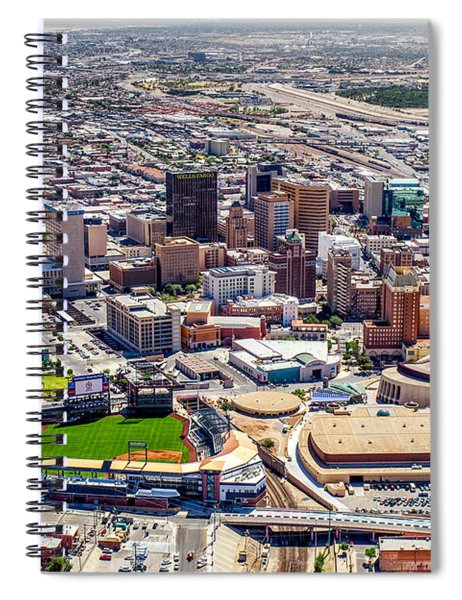 Downtown El Paso Spiral Notebook