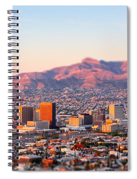 Downtown El Paso Sunrise Spiral Notebook