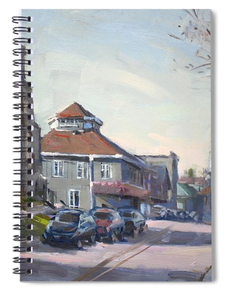 Downtown Georgetown On Spiral Notebook