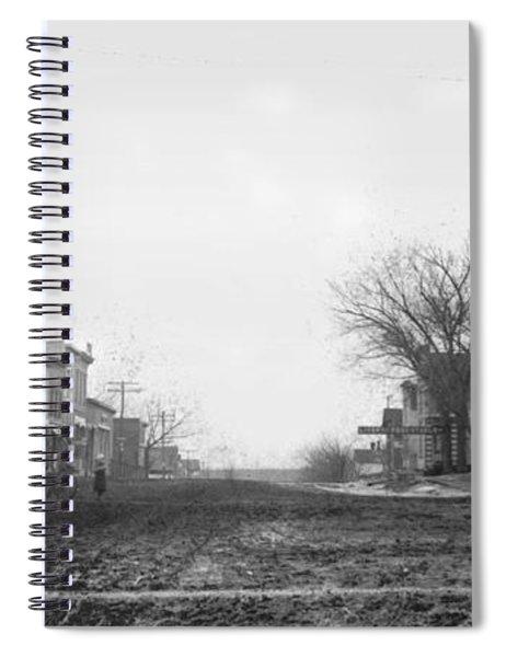 Downtown Hudson Iowa Spiral Notebook