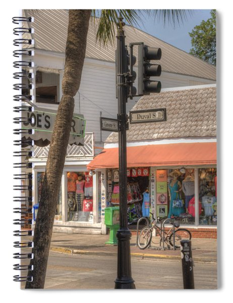 Downtown Key West Spiral Notebook