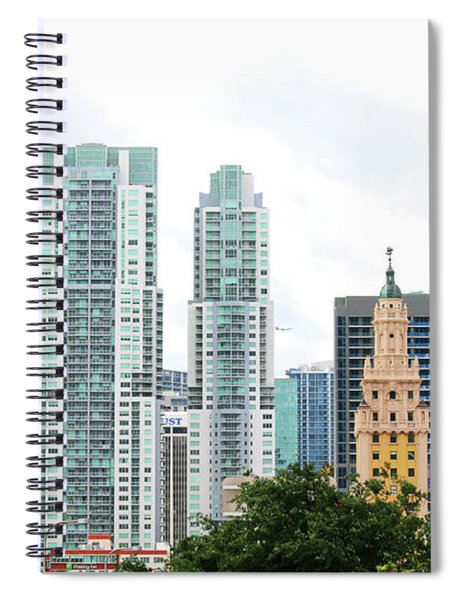 Downtown Miami Spiral Notebook
