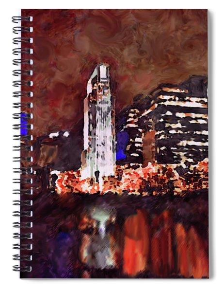 Downtown Omaha Spiral Notebook