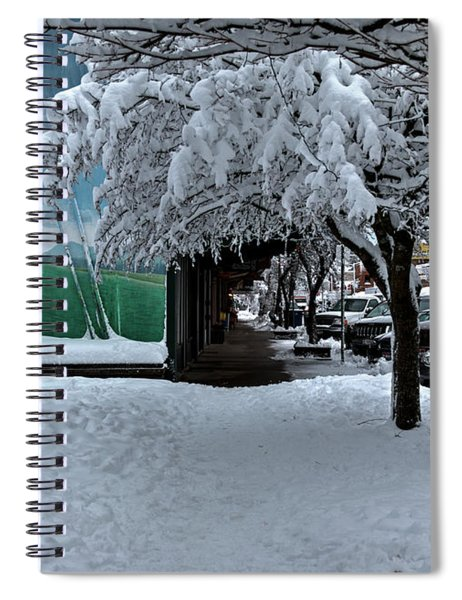 Downtown Sandpoint 2017 Spiral Notebook