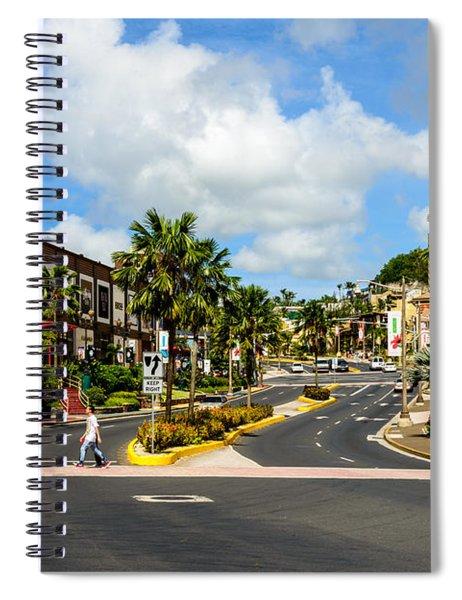 Downtown Tamuning Guam Spiral Notebook