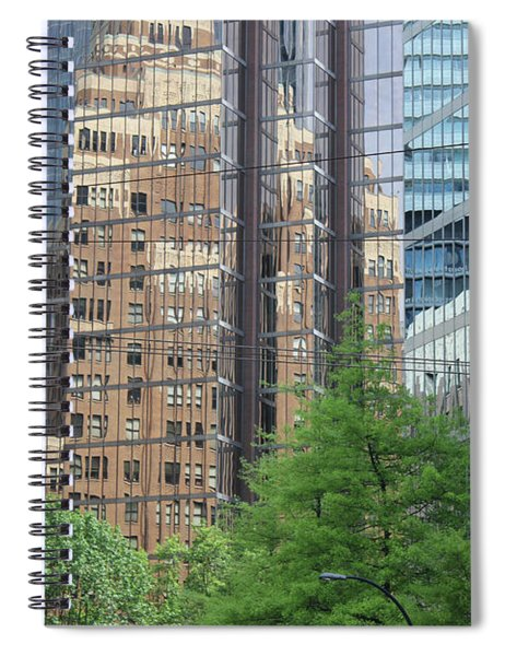 Downtown Vancouver Spiral Notebook