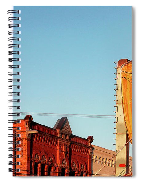 Downtown White Sulphur Springs Spiral Notebook