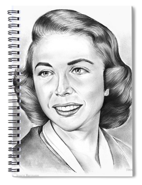 Dr. Joyce Brothers Spiral Notebook