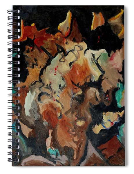 Dr Wolf And The Black Cat Spiral Notebook