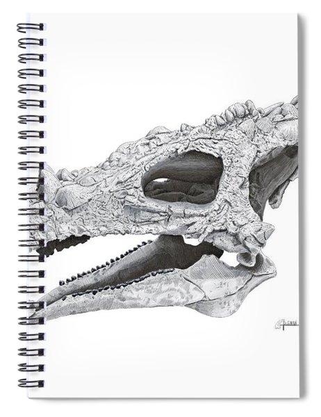 Dracorex Hogwartsia Skull Spiral Notebook