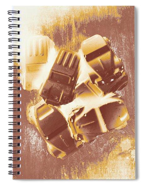 Drag Racing Mob Spiral Notebook