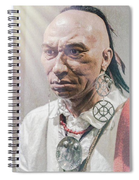Dragging Canoe Spiral Notebook